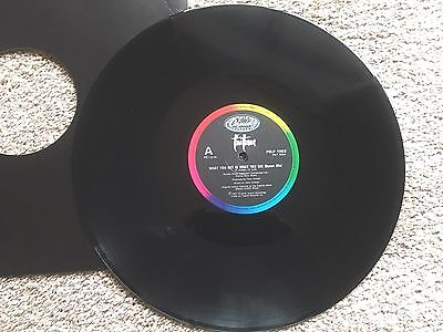"""Tina Turner  What You Get Is What You See  1987 UK Promo 12"""""""