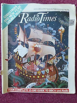 RADIO TIMES 24th DECEMBER 1982-7th JANUARY 1983 (DOUBLE ISSUE)