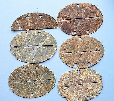 WW2 German Blanks for Soldier tag.