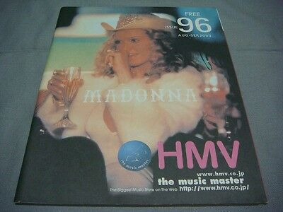 Madonna Cover Hmv Magazine Issue 96 Aug-Sep 2000 Music