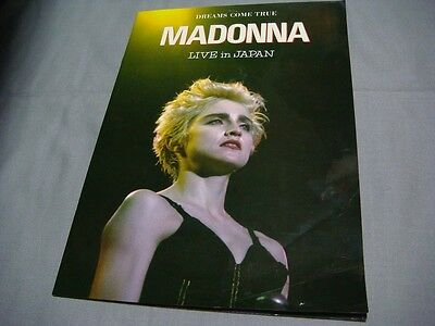 Madonna Live In Japan Ad Book Who's That Girl Tour