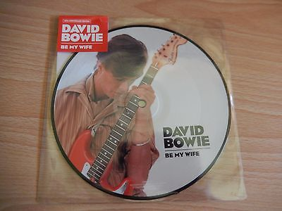 "David Bowie  - Be My Wife (Parlophone) 7"" Picture Disc"