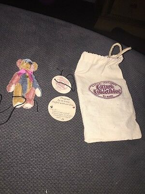 Cottage Collectibles Movable Miniature Bears - Ganz  Handmade- Puzzle