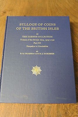 SYLLOGE OF COINS OF THE BRITISH ISLES ,TOKENS 1575-1750 PART III , No 43(PM277)