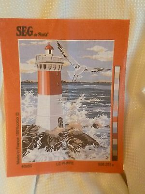 SEG de Paris Tapestry/Needlepoint Canvas – The Lighthouse (Le Phare)