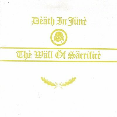 Death In June - The Wall of Sacrifice CD