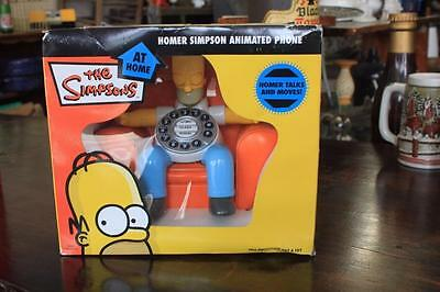 Homer Simpson Animated Phone brand new boxed