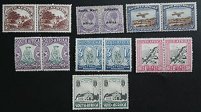 South Africa, Small Collection of Mint Stamps #a461