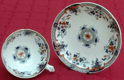 Rare Leinster Pattern Cup & Saucer by JR C.1820 A/F