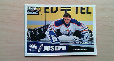 Curtis JOSEPH (Edmonton) - Upper Deck Collector's Choice NHL Hockey Cards 1996