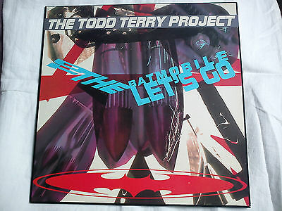 THE TODD TERRY PROJECT - TO THE BATMOBILE LETS GO 12 INCH VINYL LP RECORD let's