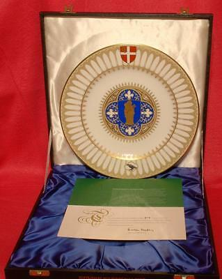 Spode/Mulberry Hall The Salisbury Cathedral Plate Boxed L/Ed: 219/1000 1975