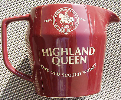 Whisky Wasserkrug Highland Queen  Water Jug Highland Queen