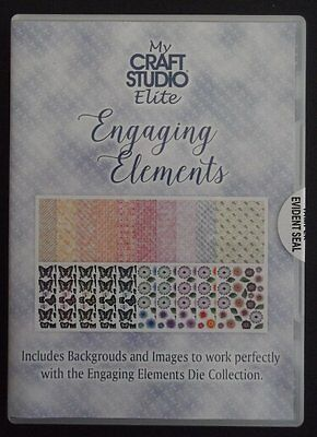 Tattered Lace My Craft Studio Elite Engaging Elements CD-ROM