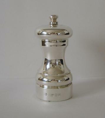 A Sterling Silver Pepper Mill / Pepper Grinder London 1996 	M C Hersey & Son #2
