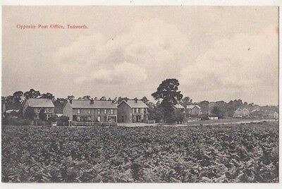 Opposite Post Office Tadworth, Surrey Postcard B742