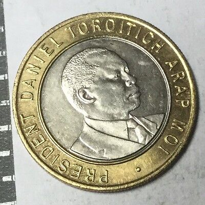 KENYA 1994 10 Shillings coin nice uncirculated