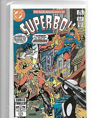 New Adventures Of Superboy #46 Gil Kane Dial H For Hero