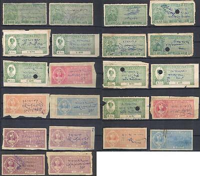 India PHALTAN State revenues fiscal stamps