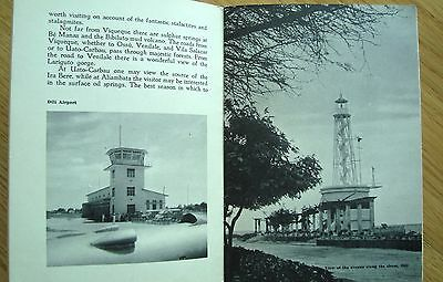 Vtg monographic Book TIMOR Agencia Geral Ultramar PORTUGAL 32 pages/ 28 image