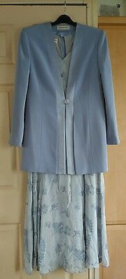 Jacques Vert Dress & Jacket/mother Of The Bride/special Occasion , Size 14     ~