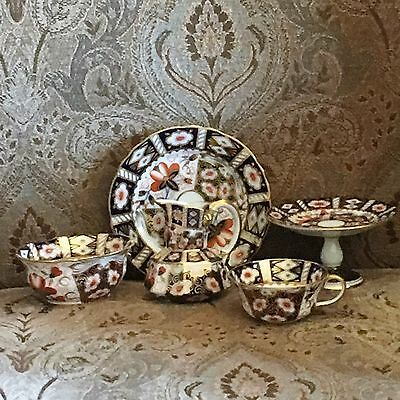 Lovely Aynsley Imari Set of 5 Pieces