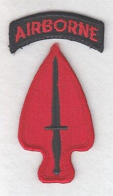 Army Patch:  Special Operations Command - merrowed edge