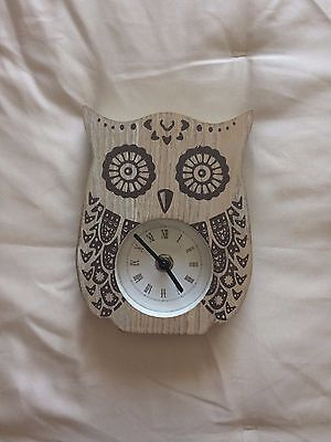 Cute Owl Clock