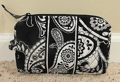 Vera Bradley Midnight Paisley Cosmetic Bag - Never Used