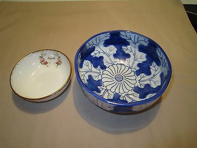 Vintage Hemingway Museum Souvenir Bowl & Royal Albert Small Bowl Made in England