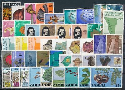 [G106013] Zambia Good lot of Very Fine MNH stamps