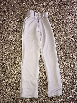 Alleson Athletic Youth Grey Softball/Baseball Pants Size XS NEW