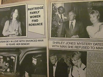 Partridge Family, David Cassidy, Susan Dey, Double Five Page Vintage Clipping