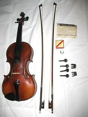 Antique Violin, Adolph Adler Sr. Dresden 1920