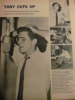 Anthony Perkins, Tony, Full Page Vintage Clipping