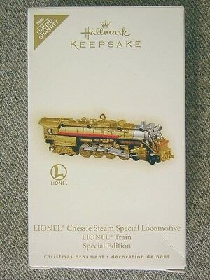 "Nice 2009 Hallmark Lionel ""Chessie Steam Locomotive"" Ornament; Special Edition"