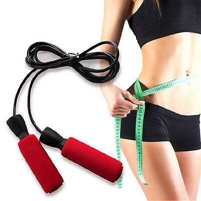 CHIC Aerobic Exercise Boxing Skipping Jump Rope Adjustable Bearing Speed Fitness
