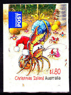 2014 Christmas Island Christmas - $1.80 International  Booklet Stamp