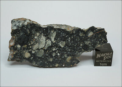 Amazing looking Lunar Meteorite NWA 11273 - 18.6 gram endcut - Own the Moon