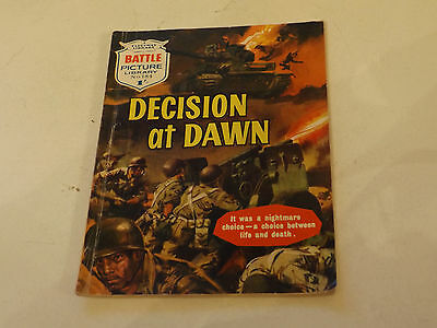 BATTLE PICTURE LIBRARY NO 184,dated 1964!,GOOD FOR AGE,VERY RARE,53 yrs old.