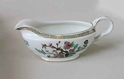 VINTAGE 'INDIAN TREE' MADDOCK JUG / GRAVY BOAT~ excellent condition