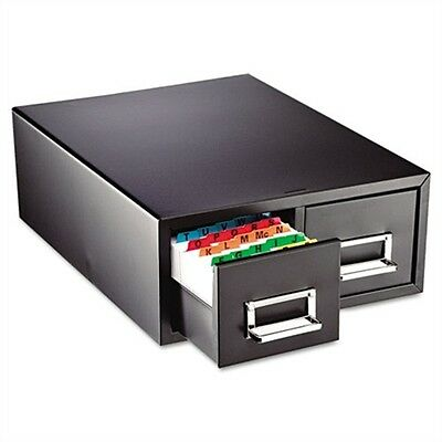 Steelmaster Drawer Card Cabinet Holds 3000 6 x 9 cards, 20 3/8 x 16 x 8 3/8