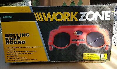 Workzone Rolling Knee Board Garage Workshop Or Diy Great Condition Car Creeper