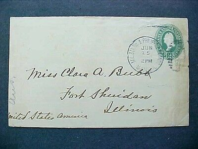 Philippines: Military Station No 1 Spanish American War Cover