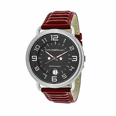 Morphic 4904 M49 Series Mens Watch, Red MPH4904