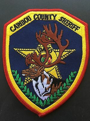 Caribou County Idaho Sheriff Shoulder Patch