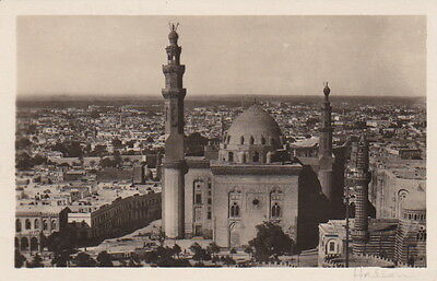 Egypt - CAIRO - The Sultan Hassan Mosque & General View of Cairo