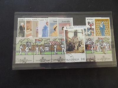 Australia Stamps By Year - 1977 - 17 Stamps - Used