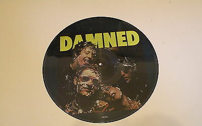 The Damned - Damned - Lp 1987 Picture Disc Demon Records Uk - Nm - Fiend 91