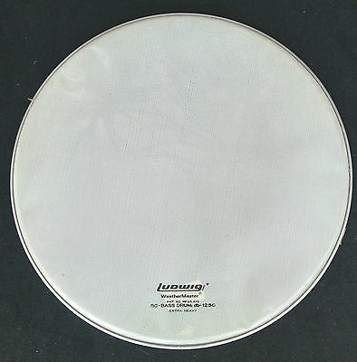 "LUDWIG Weather Master 18"" Fell Bass Heavy white Nr.6175  - Lagerabverkauf"